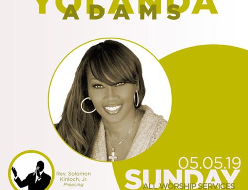 MAY 5: Triumph Church welcomes Yolanda Adams (ALL SERVICES)