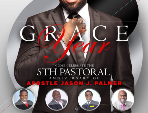 Apostle Jason J. Palmer Grace Year