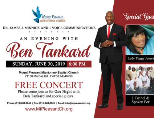"JUN 30: ""An Evening With Ben Tankard"" ~ Free Concert"