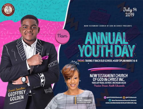 JULY 14: New Testament Church Of God In Christ Annual Youth Day