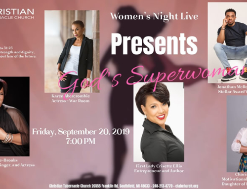 SEP 20: Christian Tabernacle Church Women's Night Live with Lisa Page Brooks, Jonathan McReynolds & More (F*R*E*E Admission)