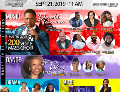 SEP 21: ELEVATE Worship & Fine Arts Conference + Donald Lawrence, Larry Callahan & More In Concert