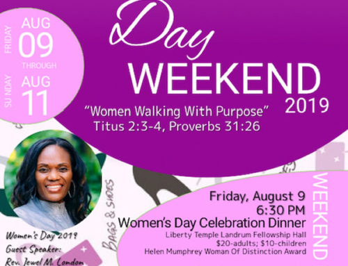 AUG 9-11: Women's Day Weekend 2019 presented by Pastor Steve Bland, Jr. & The Women of Liberty