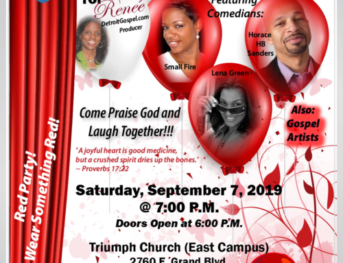 SEP 7: Gospel/Comedy Show feat. Small Fire, Horace HB Sanders, Lena Green, Gospel Artists & More!