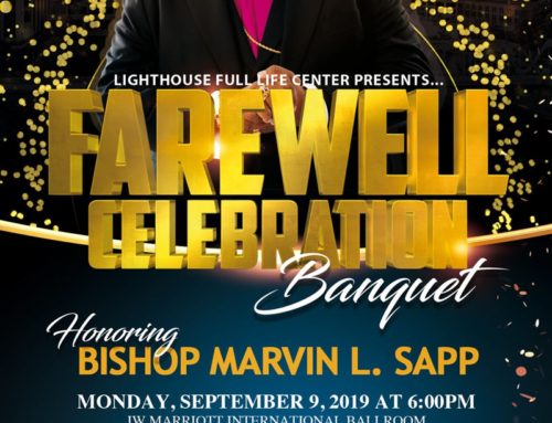 Bishop Marvin L. Sapp Farewell Celebration Banquet