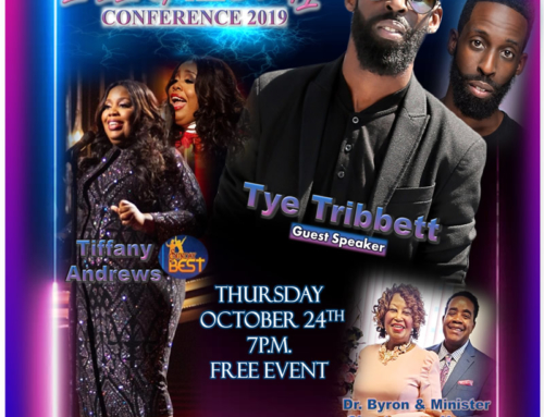 OCT 24: Fire In The City Conference 2019 Featuring Tye Tribbett & Sunday Best's Tiffany Andrews