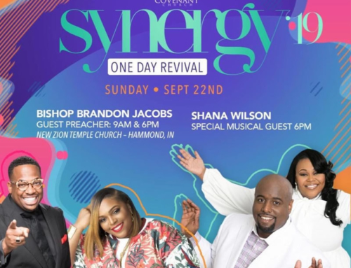 SEP 22: Kingdom Covenant Church presents SYNERGY 19 with Bishop Brandon Jacobs & Shana Wilson