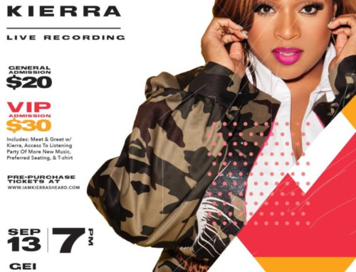 SEPT 13: Kierra Sheard Live Album Recording in DETROIT!