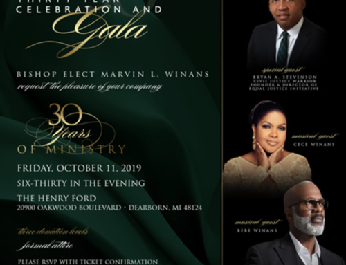 OCT 11: Perfecting Church 30 Year Celebration and Gala