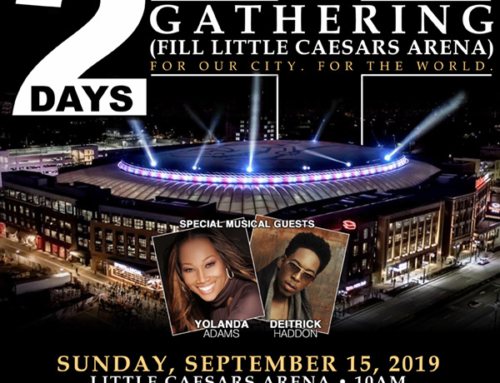 "SEPT 15: Triumph Church welcomes Yolanda Adams & Deitrick Haddon to Little Caesars Arena for ""The Gathering"""