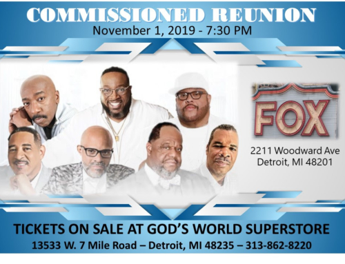 NOV 1: Commissioned Reunion Concert @ Fox Theater