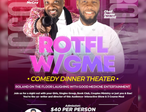 TIX On Sale Now for ROTFL W/GME Comedy Dinner Theater (*Seating is Limited*)