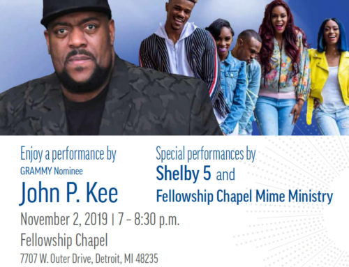 "NOV 2: DTE presents ""Hallelujah for Heat"" F*R*E*E Concert with John P. Kee, Shelby 5 & MORE!"