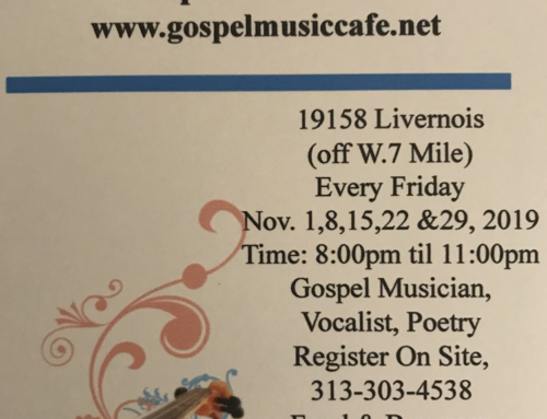 "Open Mic ""Gifts of Expression"" @ Gospel Music Cafe (Every Friday in November)"