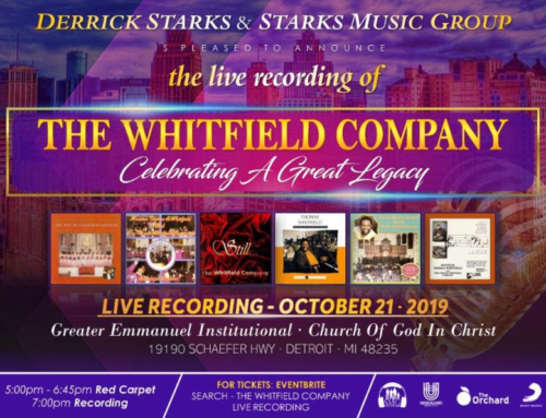 OCT 21: Derrick Starks Music Group Presents LIVE Recording Session of The Whitfield Company