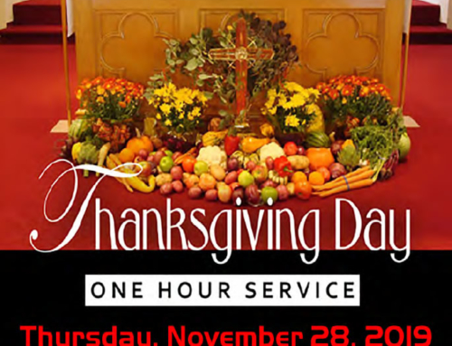 NOV 28: 1-Hour Thanksgiving Day Service at New St. Paul Tabernacle COGIC