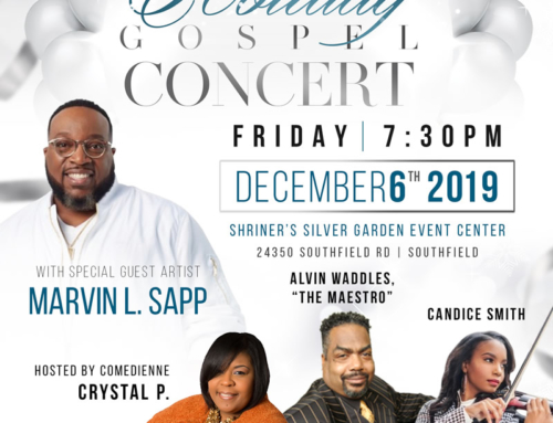 DEC 6: The Empowerment Church welcomes Marvin Sapp, Crystal P, and MORE for Holiday Gospel Concert