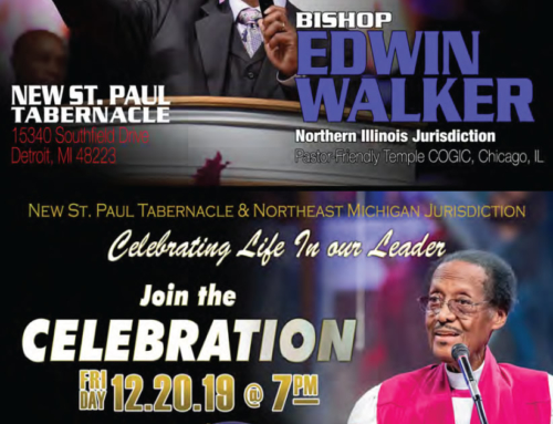 DEC 8-10: Revival featuring Bishop Edwin Walker @ New St. Paul Tabernacle C.O.G.I.C.