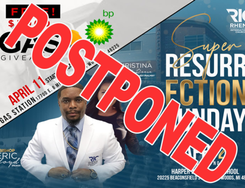 POSTPONED: Rhema International Church's $5000 F*R*E*E Gas Giveaway & 2020 Super Resurrection Sunday Service
