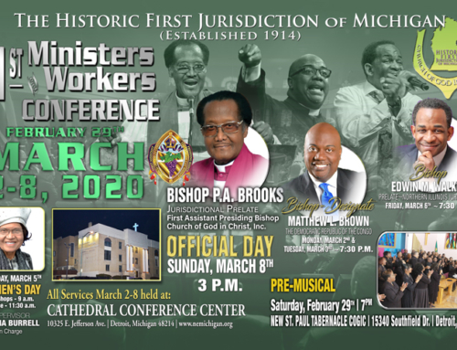 FEB 29: Pre-Musical / MAR 2-8: 91st Annual Ministers & Workers Conference
