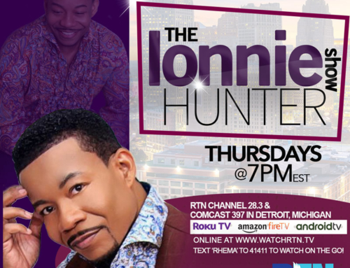 MAY 21: The Lonnie Hunter Show premieres on the Rhema Television Network (Watch Video Promo)