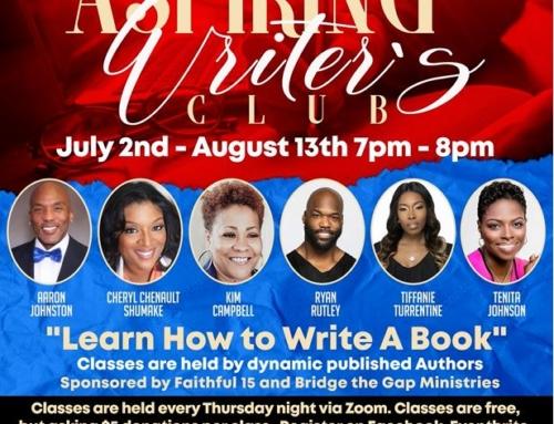 "Aspiring Writers Club: ""Learn How to Write a Book!"""