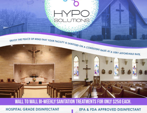 HYPO SOLUTIONS Church Sanitation Program – Are you re-opening your church?