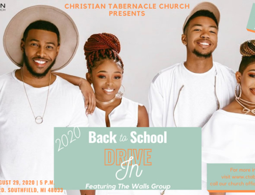 AUG 29 @ Christian Tab: 2020 BACK TO SCHOOL Drive In feat. THE WALLS GROUP