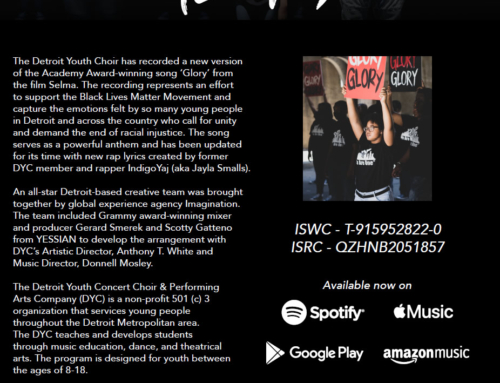 The Detroit Youth Choir's new version of 'Glory' updated with rap lyrics for such a time as this…