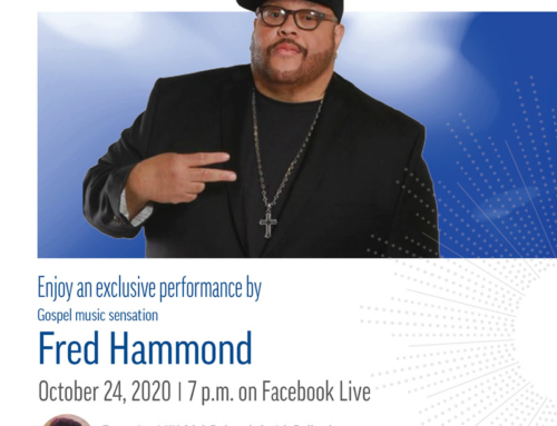 DTE Energy welcomes FRED HAMMOND for 11th Annual Hallelujah for Heat VIRTUAL Concert