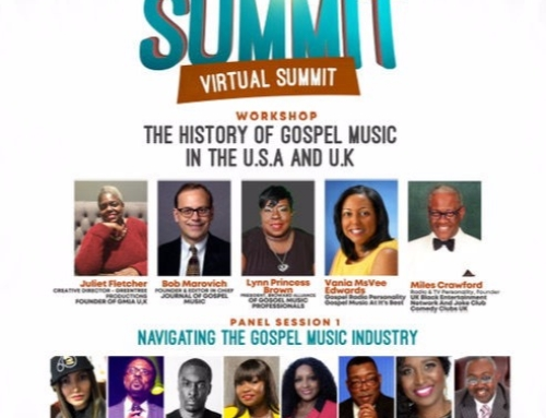OCT 2 & 3: The International Gospel Music VIRTUAL Summit (F*R*E*E* Event)
