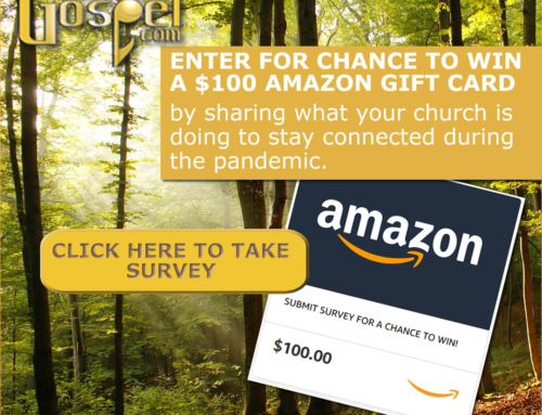 Shout Out your church & enter for chance to win $100 Amazon Gift Card