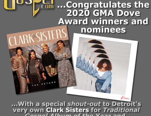 DetroitGospel.com congratulates The 2020 GMA Dove Award winners and nominees