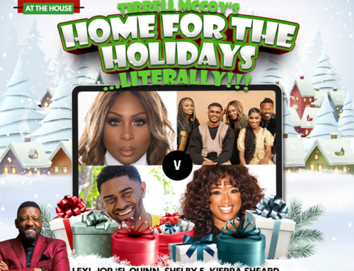 "DEC 20: GME presents Tirrell McCoy's ""Home for the Holidays …Literally!!!"""