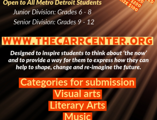 Do You Know A Talented, Budding, Young Artist?