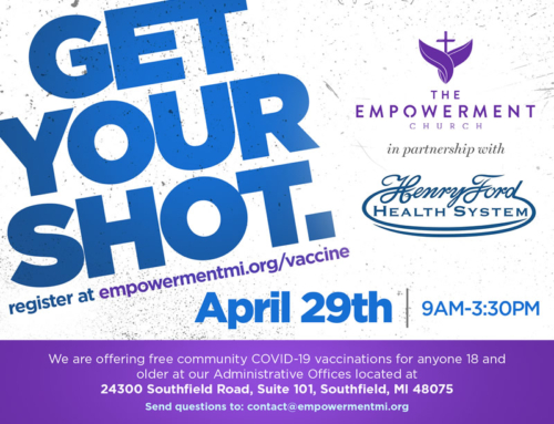 Get Your Covid Vaccine at The Empowerment Church