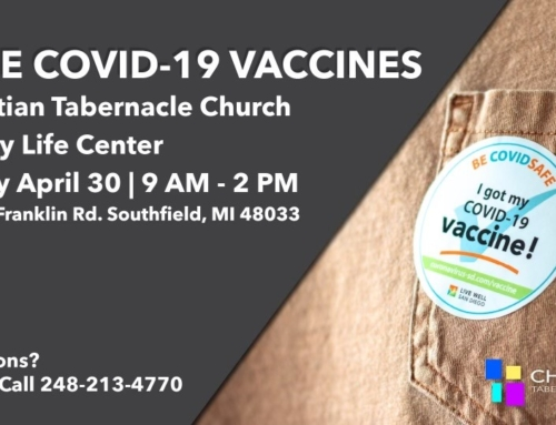 APR 30: Covid-19 Vaccines @ Christian Tab Church (No Registration Required)