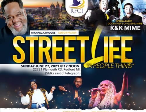 "JUN 27 @ Noon: RFCI STREET LIFE ""A People Thing"" ~ K&K Mime, Erica Caldwell & More"