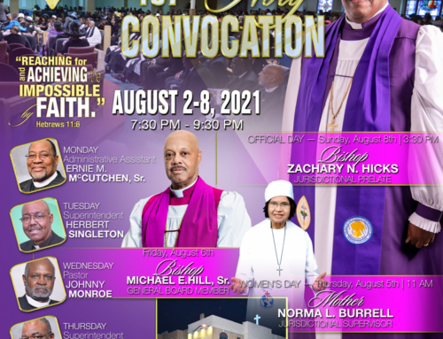 AUG 2-8: Join Bishop Zachary N. Hicks & more for NE MI 107th Holy Convocation