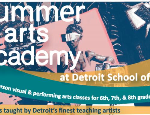 Summer Arts Academy for Grades 6 – 8 (F*R*E*E)