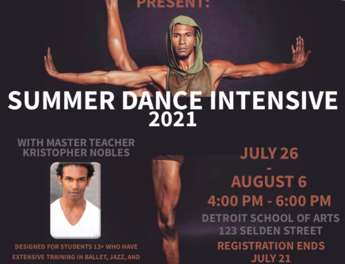 July 26 – August 6: The Debbie Allen Summer Dance Intensive is BACK and IN PERSON!