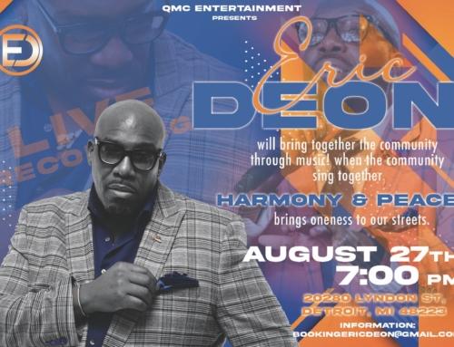 AUG 27: Harmony & Peace with Eric Deon