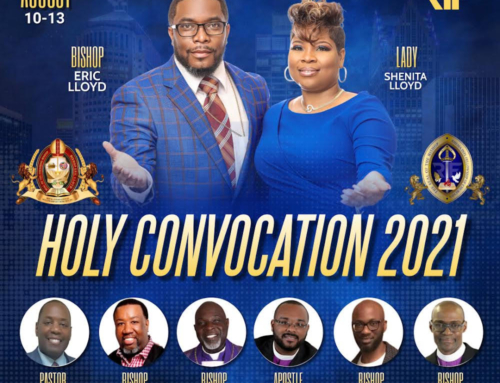 AUG 10-13: Rhema Int'l Fellowship of Churches HOLY CONVOCATION 2021 (In-Person)