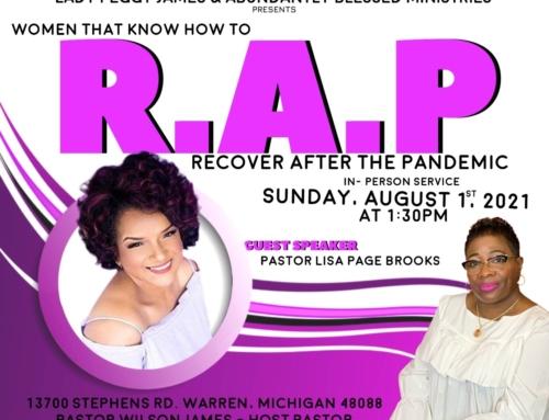 AUG 1: Women That Know How To R.A.P. (Recover After the Pandemic)