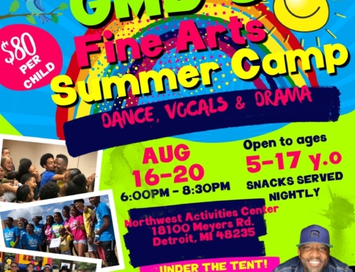 AUG 16-20: GMD's Fine Arts Summer Camp for ages 5-17 y.o.