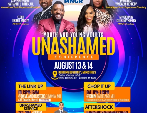 AUG 13 & 14: COGIC MNGR Int'l Youth & Young Adults UNASHAMED Conference