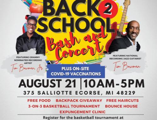 """AUG 21: Int'l Gospel Center's """"Back 2 School Bash & Concert"""" feat. Tim Bowman & Tim Bowman, Jr."""