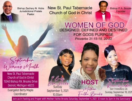 September Women's Month at New St. Paul Tabernacle Church of God in Christ
