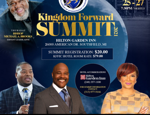 AUG 25-27: Join Bishops Michael A Brooks, Marvin L. Winans & more for Kingdom Forward Summit 2021