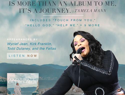 TAMELA MANN's new album, Overcomer, available NOW